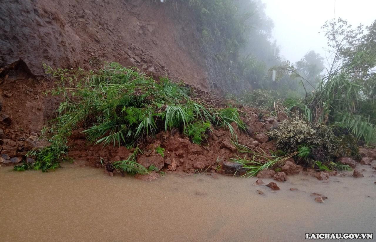 Cảnh báo sạt lở đất trên phạm vi tỉnh Lai Châu