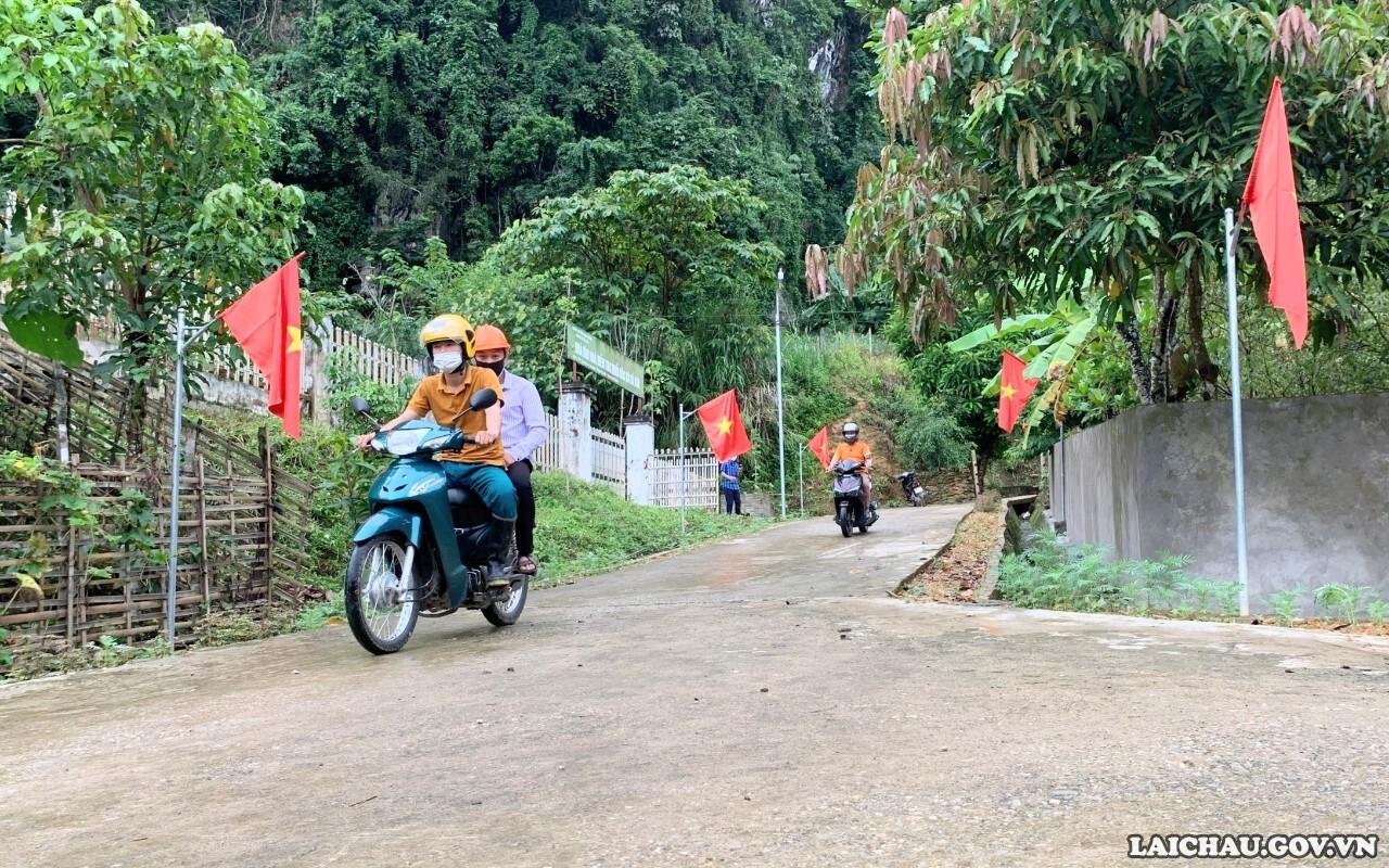 Pha Mu phấn đấu về đích nông thôn mới