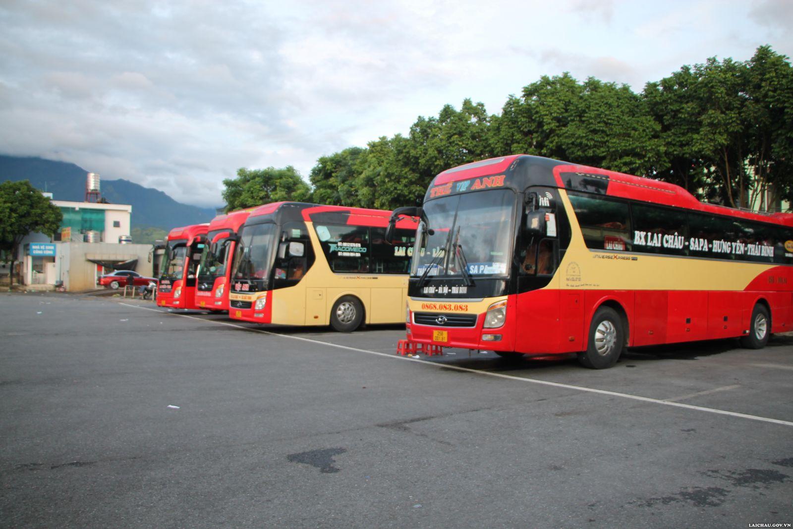 Lai Châu:Tạm dừng hoạt động vận chuyển hành khách đi tỉnh Sơn La và ngược lại kể từ 00h00 ngày 24/7/2021