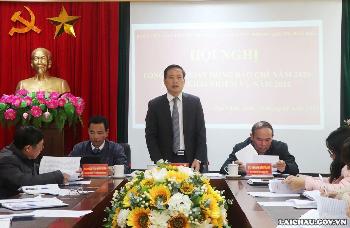 Trưởng Ban Tuyên giáo Tỉnh ủy chủ trì Hội nghị.